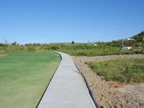 宜野湾北中城線道路改良工事