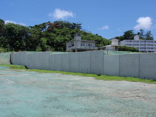 浦添南第一地区国際センター線築造及び整地工事